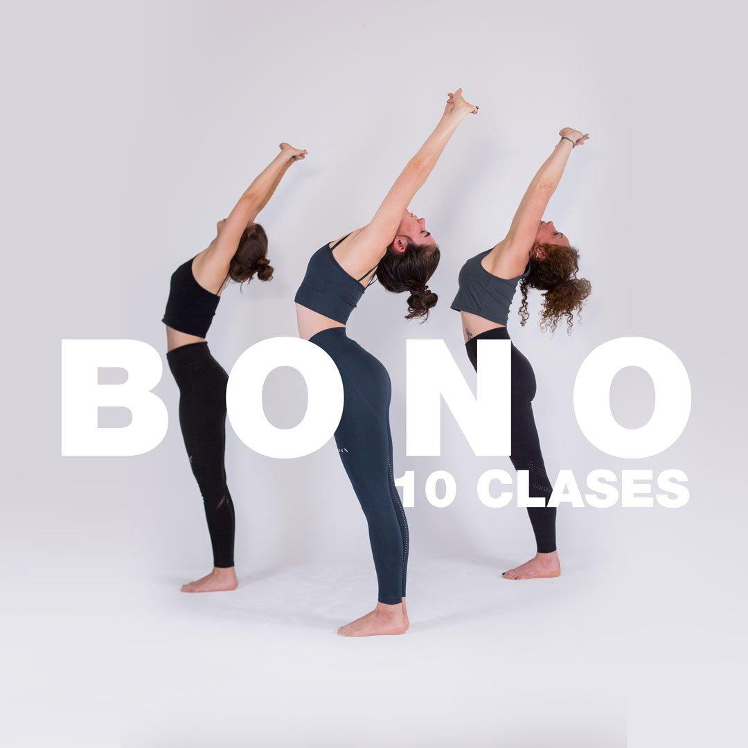 Bono de 10 clases en Myoga Shala